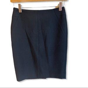 Loft Suit Pencil Skirt Black Size 00P